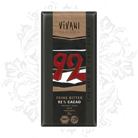 Vivani - 92% Dark Chocolate Delight