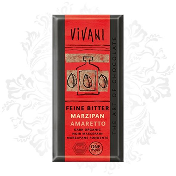 Vivani - Dark chocolate with Marzipan Amaretto (100% organic)