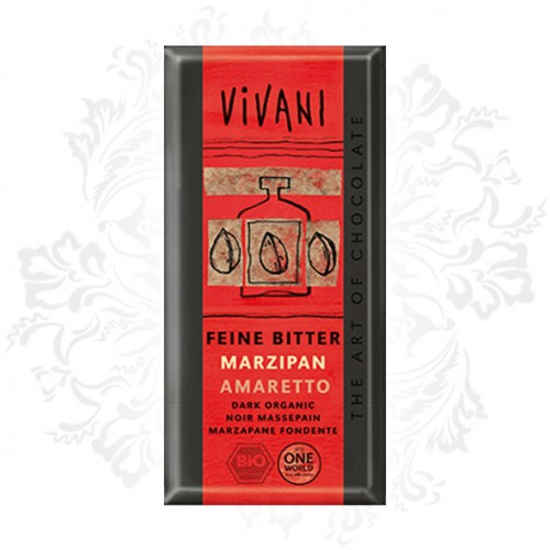 Vivani - Dark chocolate with Marzipan Amaretto (100% organic)