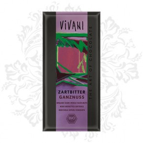 Vivani - Dark Chocolate with whole Hazelnuts (ON SALE)
